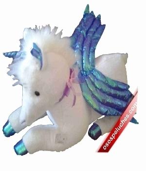 Imagen de Unicornio de peluche grande