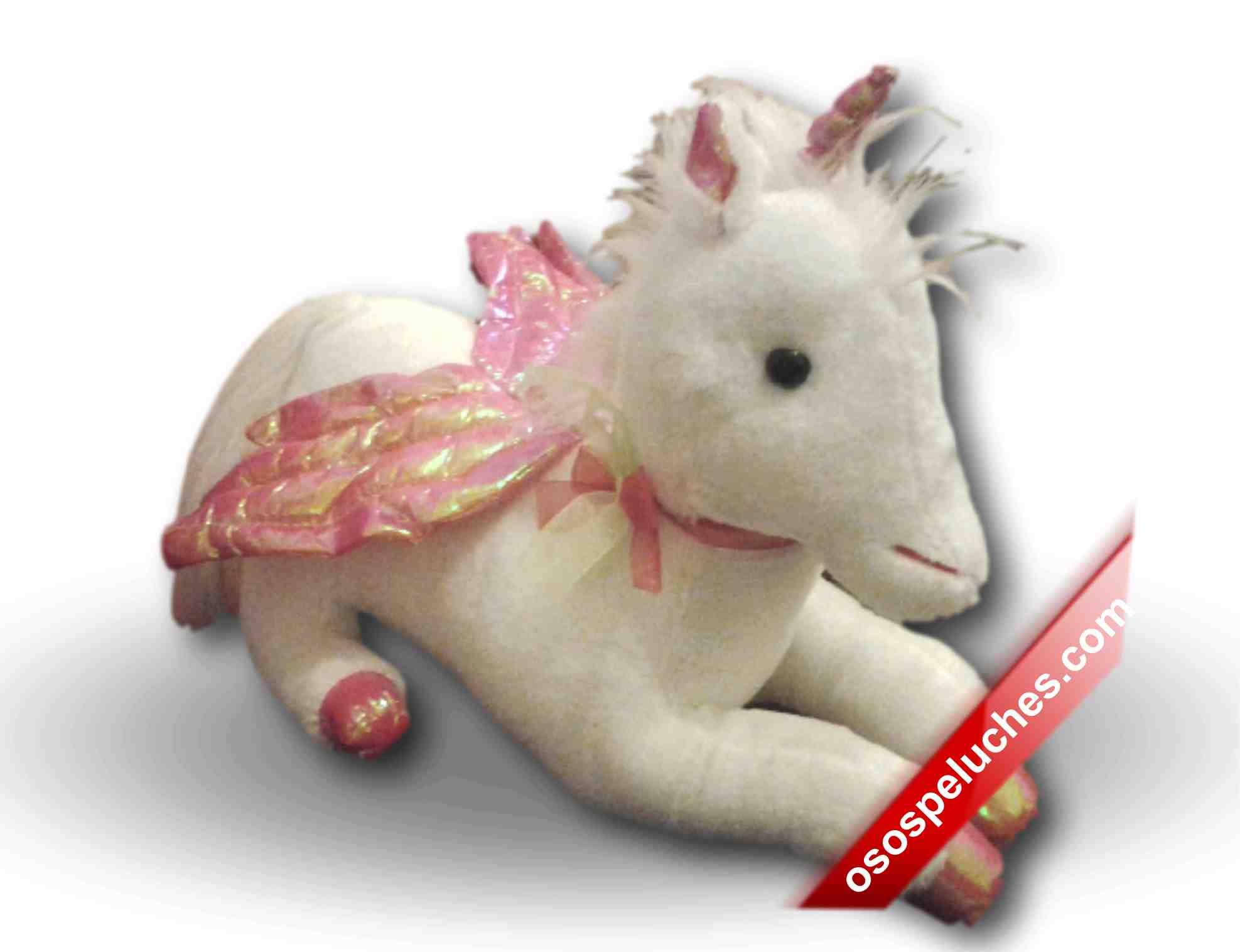 Imagen de Unicornio de peluche mediano numero 0