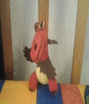 Imagen de Como entrenar a tu dragon dragon rojo