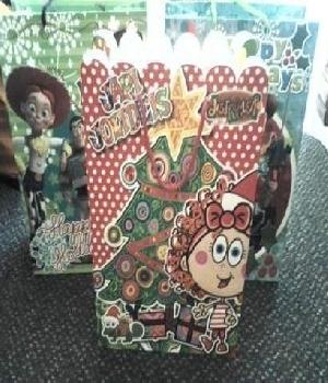 Imagen de Bolsa de regalo de personajes 24X33cm