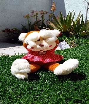 Imagen de Changa cuca de peluche de 45 cms numero 0