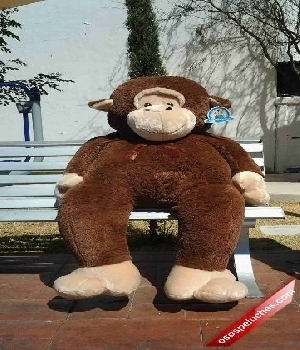 Imagen de Chango de peluche gigante 152 cms