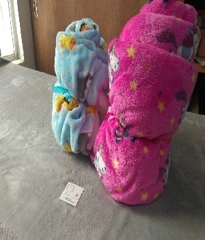 Imagen de Cobijitas para bebe alaska