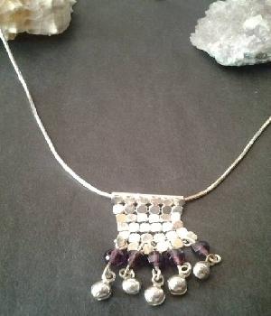 Imagen de Hermoso collar de plata 925 italiano cola de rata
