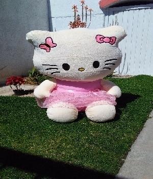 Imagen de Kitty de peluche gigante 110m