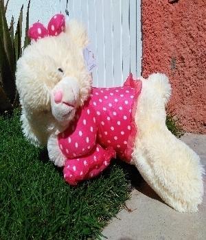 Imagen de Osita dormilona tutu rosa de 50 cms