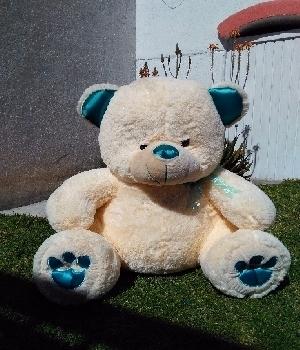 Imagen de Oso grande patas azules de 1 metro numero 0