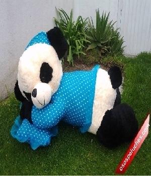Imagen de Panda de peluche dormilona grande