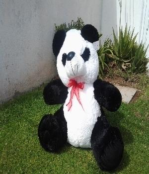 Imagen de Panda de peluche grande 65 cms sentado