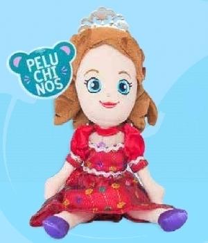 Imagen de Princesas de peluche premium 25 cms