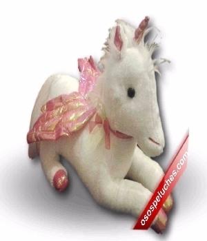 Imagen de Unicornio de peluche mediano numero 1