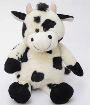Imagen de Vaca de peluche grande 45 cms