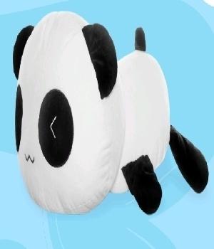 Imagen de panda wiwi de peluche 60 cms
